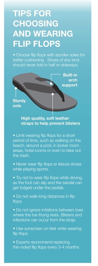 Tips for Choosing and Wearing Flip Flops